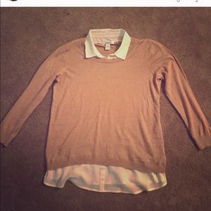 Size large collared sweater